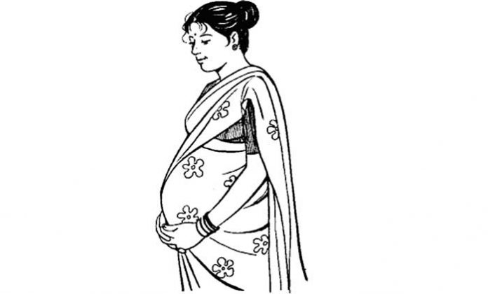 Pregnant mother